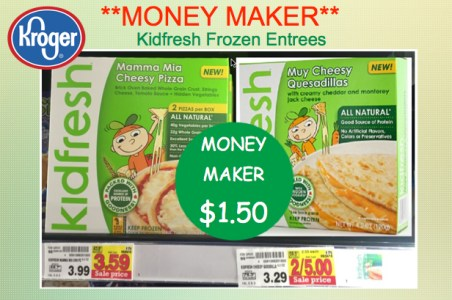 Kidfresh All Natural Frozen Meals Coupon Deal