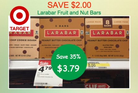 Larabar Fruit and Nut Bars Coupon Deal