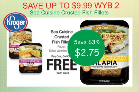 Sea Cuisine Crusted Fish Fillets coupon deal
