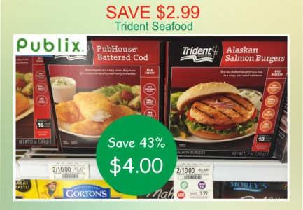 Trident Seafood coupon deal