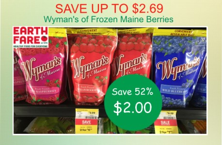 Wyman's of Frozen Maine Berries coupon deal