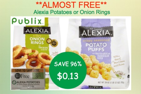 alexia potatoes or onion rings coupon deal