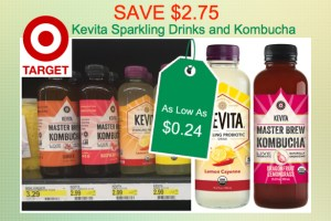 Kevita Sparkling Drinks or Kombucha Coupon Deal