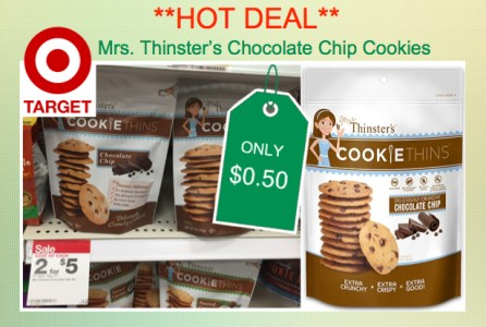 Mrs. Thinster's Cookie Thins Coupon Deal