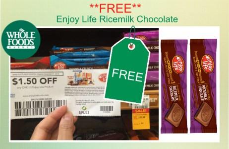 Enjoy Life Ricemilk Chocolate coupon deal
