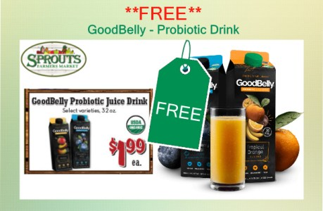 GoodBelly Probiotic Drink coupon deal
