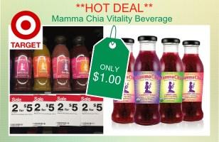 Mama Chia Vitality Beverage coupon deal