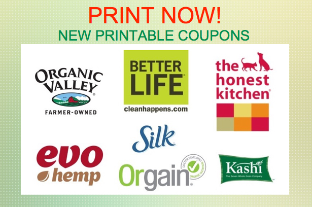 graphic relating to Organic Valley Coupons Printable named PRINT At this time** Refreshing Discount coupons for Organic and natural Valley, Kashi, Silk