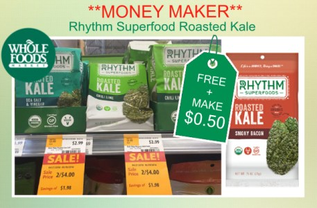Rhythm Superfood Roasted Kale coupon deal