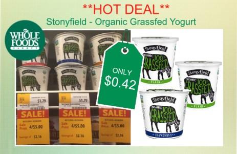 **HOT DEAL** Whole Foods - Stonyfield Grassfed Yogurt ...