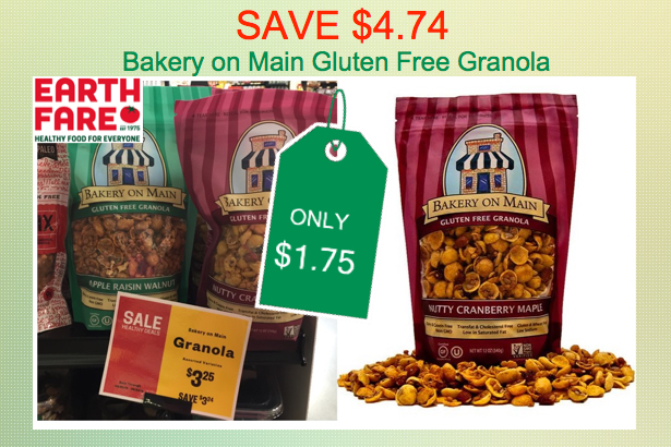 SAVE $4.74! Bakery on Main Gluten Free Granola Coupon Deal ...