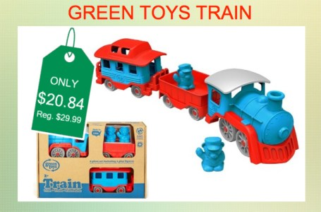 green toys train (blue/red)