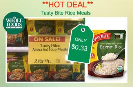 tasty bite rice meals