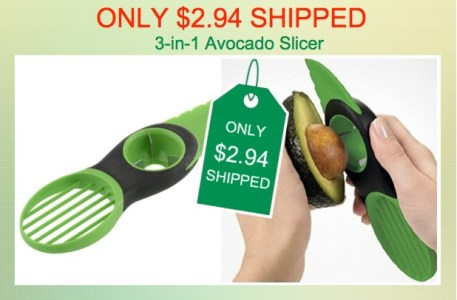HOMEKE 3-in-1 Avocado Slicer