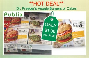 Dr. Praeger's Veggie Burgers or Cakes Coupon Deal