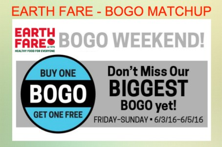 Earth Fare BOGO Matchup