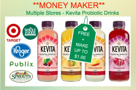 Kevita Probiotic Drink Coupon Deal