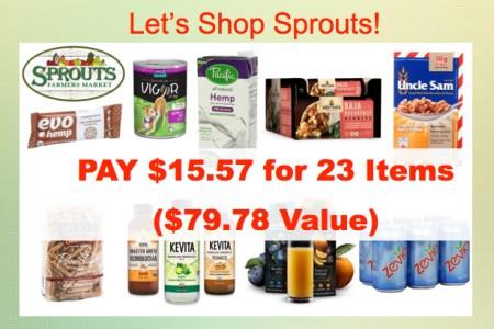 Let's Shop Sprouts 060616