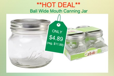 Loew-Cornell Ball Wide Mouth Canning Jar