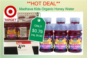 Madhava Kids Organic Honey Water Coupon Deal
