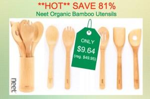 Neet Organic Bamboo Utensils