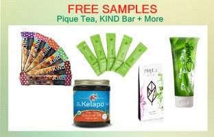 Pique Tea, KIND Bar + More deal