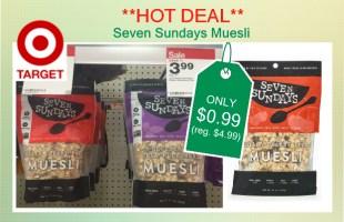 Seven Sundays Muesli coupon deal 2