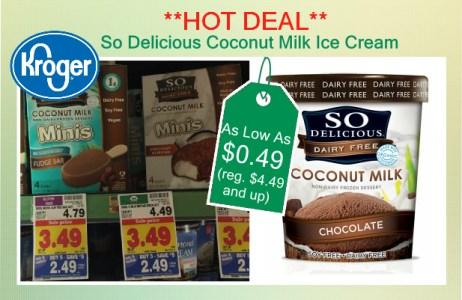 So Delicious Coconut Milk Ice Cream coupon deal