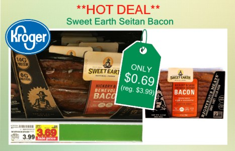 Sweet Earth Seitan Bacon coupon deal
