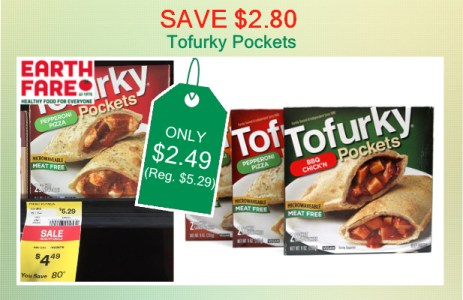 Tofurky Pockets coupon deal