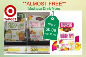 madhava drink mixes coupon deal