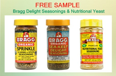 Bragg Delight Seasonings & Nutritional Yeast free sample