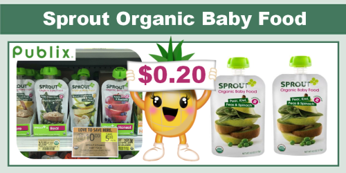 Sprout Organic Baby Food Coupon Deal