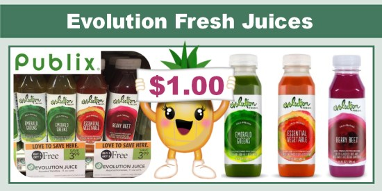 Evolution Fresh Juices coupon deal