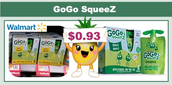 GoGo SqueeZ Coupon Deal