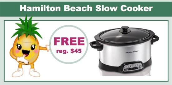 Hamilton Beach Slow Cooker
