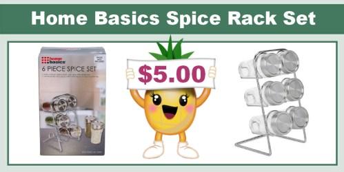 Home Basics Spice Rack Set