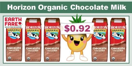 Horizon Organic Chocolate Milk coupon deal