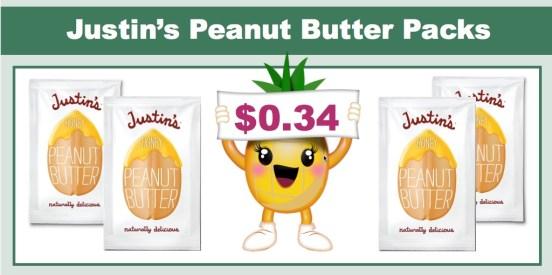 Justin's Peanut Butter Packs