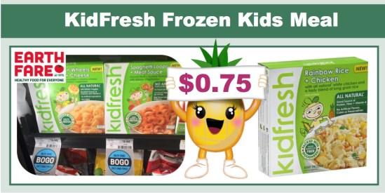 Kid Fresh Frozen Kids Meals Coupon Deal