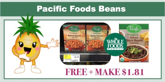 Pacific Foods Beans Coupon Deal