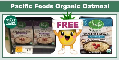 Pacific Foods Organic Oatmeal Coupon Deal