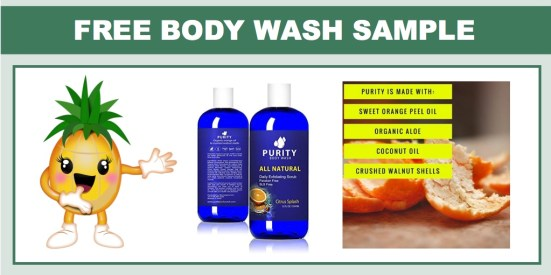 FREE Purity Body Wash Sample