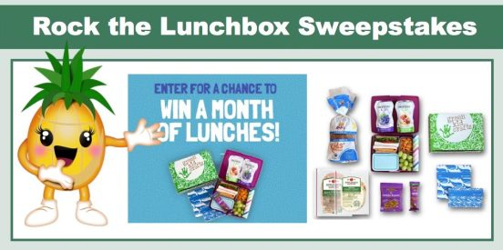 Rock the Lunch Box Sweepstakes