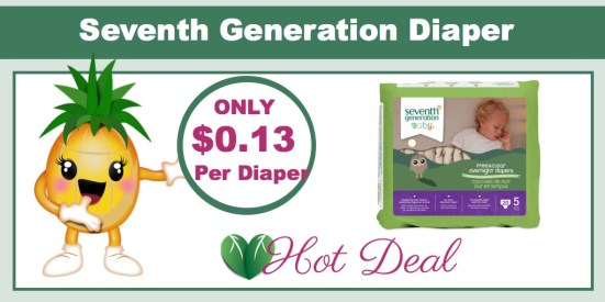 Seventh Generation Diaper