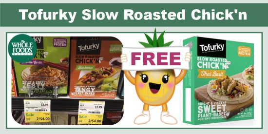 Tofurky Slow Roasted Chick'n coupon deal
