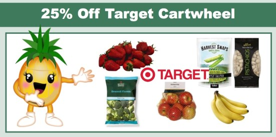 High Value Cartwheel Offers for Fresh Produce and Healthy Snacks