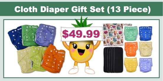Cloth Diaper Gift Set