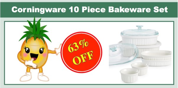 Corningware 10 Piece Bakeware Set