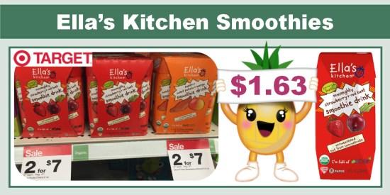 Ella's Kitchen Smoothies coupon deal